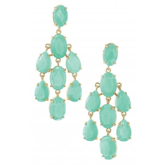Stella Dot Lily Chandelier Earrings